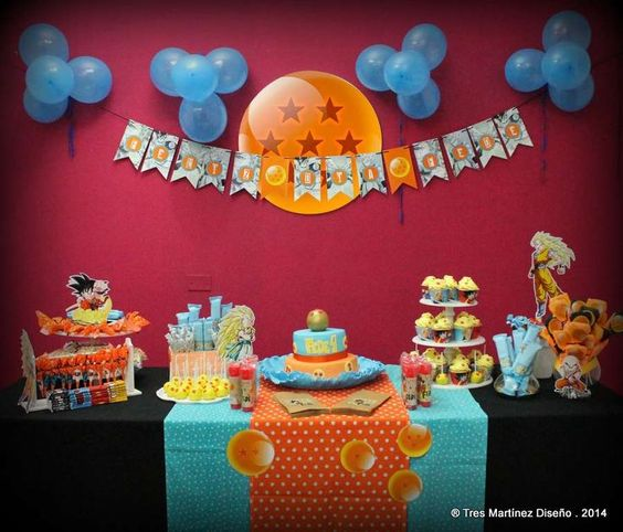 Decoracion dragon ball para cumplea os 15 decoracion for Decoracion para fiesta de cumpleanos de nina