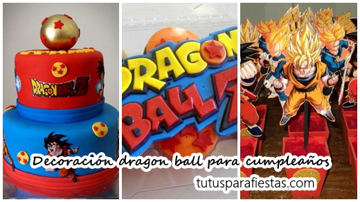 Decoraci n de dragon ball para cumplea os for Decoration dragon ball