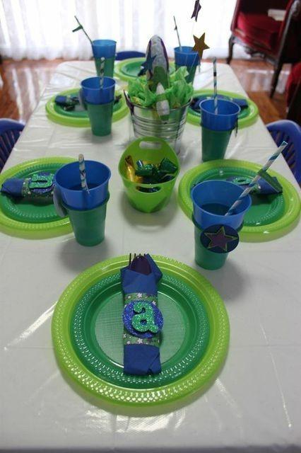 Decoracion De Buzz Lightyear Para Fiesta De Cumpleaños 18