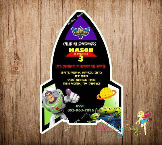 Decoracion De Buzz Lightyear Para Fiesta De Cumpleaños 6