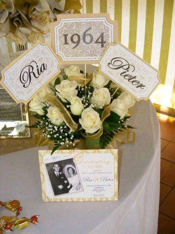 decoracion-para-bodas-de-oro (13) - decoracion de fiestas cumpleaños