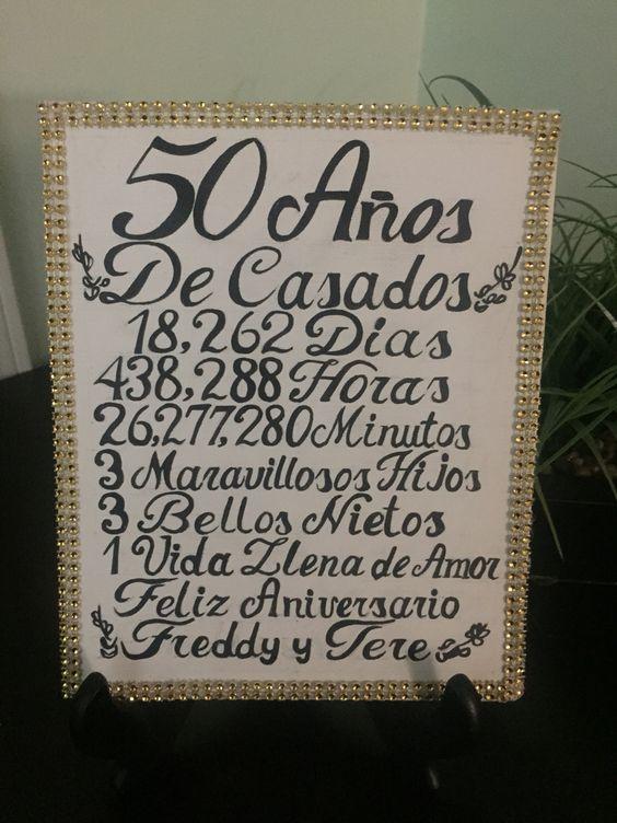 decoracion para bodas de oro