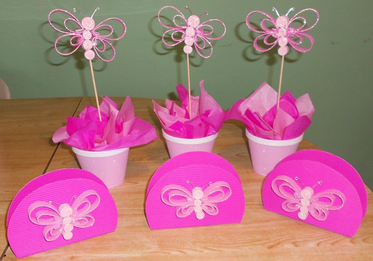 Decoracion para un cumplea os de mariposas 25 for Decoracion fiesta cumpleanos nina