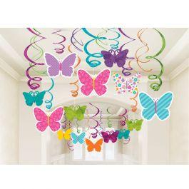 Decoraci n para un cumplea os de mariposas - Adornos para un cumpleanos ...