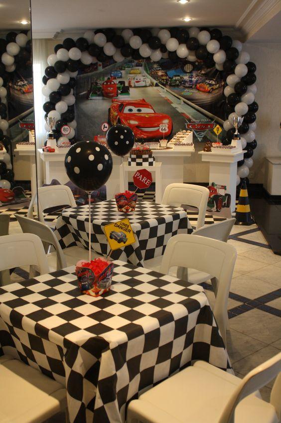 Fiesta Infantil De Cars 3 Decoracion Para Cumpleanos Del Rayo Mcqueen