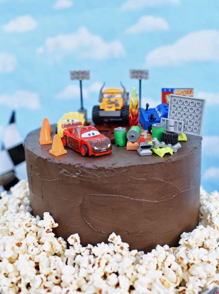 62c961351 Fiesta infantil de Cars 3, decoracion para cumpleaños del rayo Mcqueen