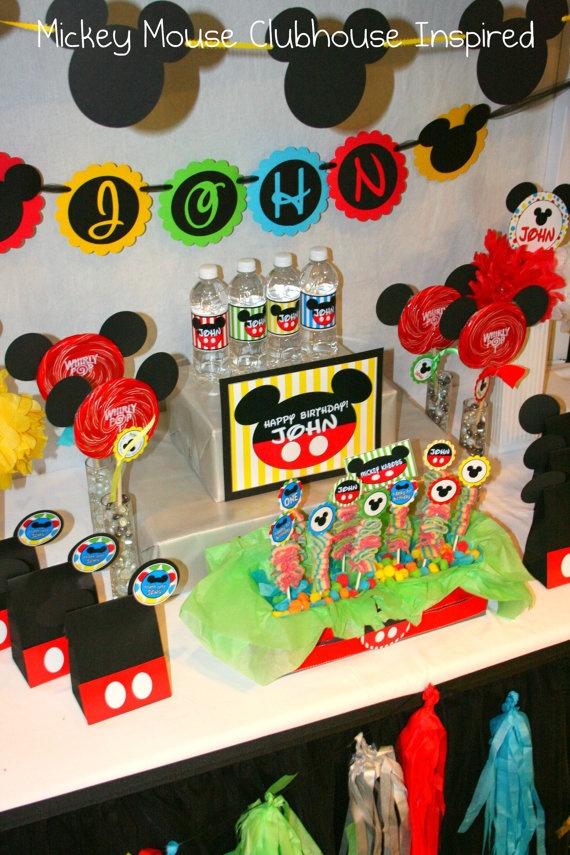 Fiesta infantil de mickey mouse 4 decoracion de - Decoracion para fiestas infantiles mickey mouse ...