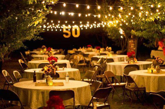 fiesta para festejar los 50 a os