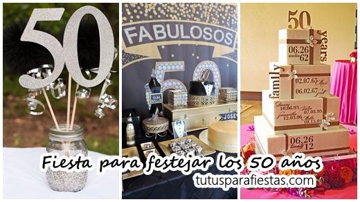 Fiesta para festejar los 50 a os for Decoracion salon 50 anos hombre