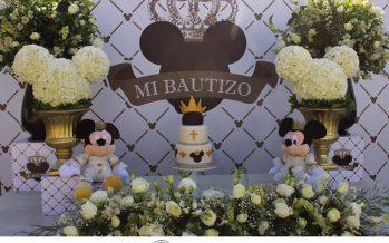 ¡Un Bautizo con el Ratoncito Consentido, Mikey Mouse en su Modo más Elegante… Te encantará!