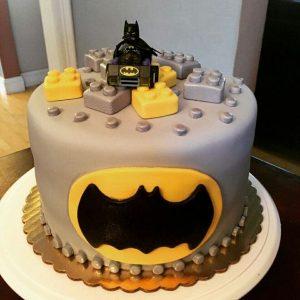 Pasteles de cumpleaños de Batman