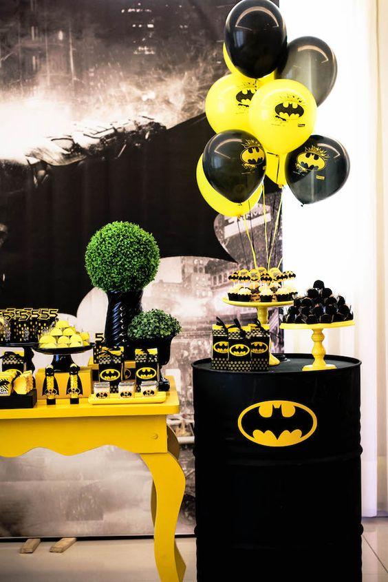 Fiesta temática de Batman