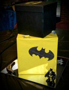 Centros de mesa de Batman