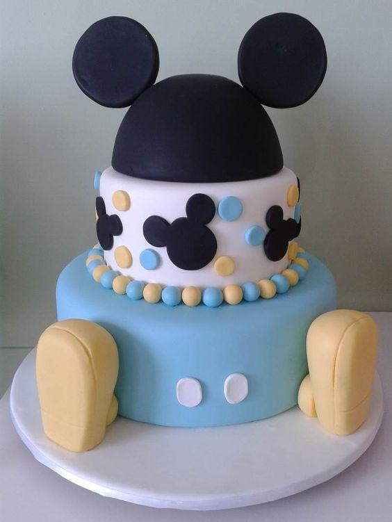 cumpleaños de mickey mouse baby