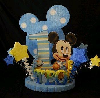 Cumpleanos De Mickey Mouse Baby 18 Decoracion De Fiestas