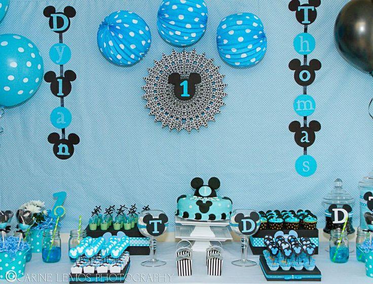 Cumpleanos De Mickey Mouse Baby 8 Decoracion De Fiestas