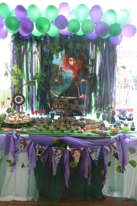 Decoracion de valiente para cumpleanos 16 decoracion for Decoracion para fiesta de cumpleanos de nina
