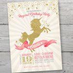 Decoración para cumpleaños de unicornios