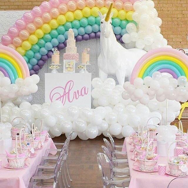 decoraci n para cumplea os de unicornios
