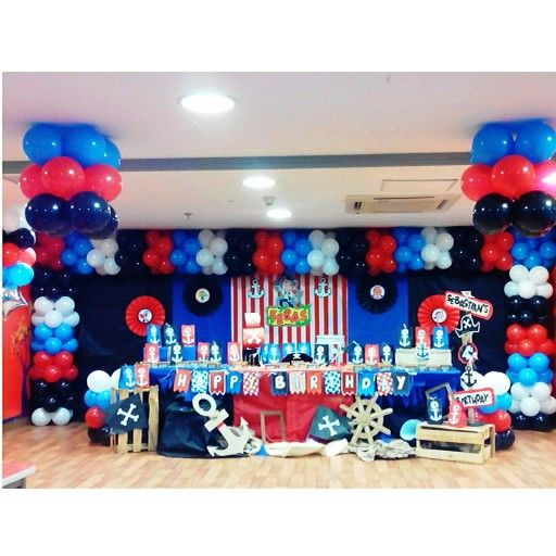Decoraciones Infantiles Jake Y Los Piratas