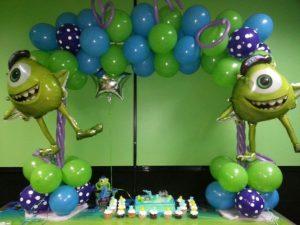 decoracion para fiesta de mike wazowski