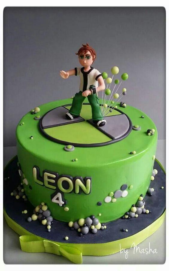 Decoración para fiestas de cumpleaños de Ben 10