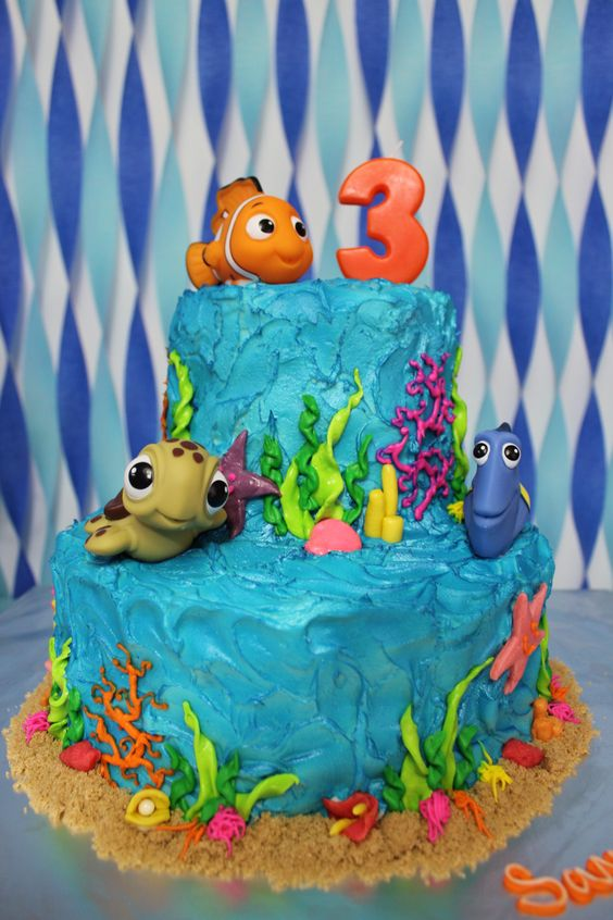 Decoraciones De Nemo Para Cumplea 241 Os 13 Decoracion De