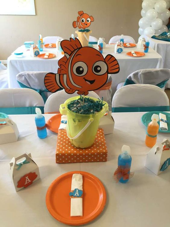 Decoraciones de nemo para cumplea os 15 decoracion de for Decoraciones para fiestas de 15