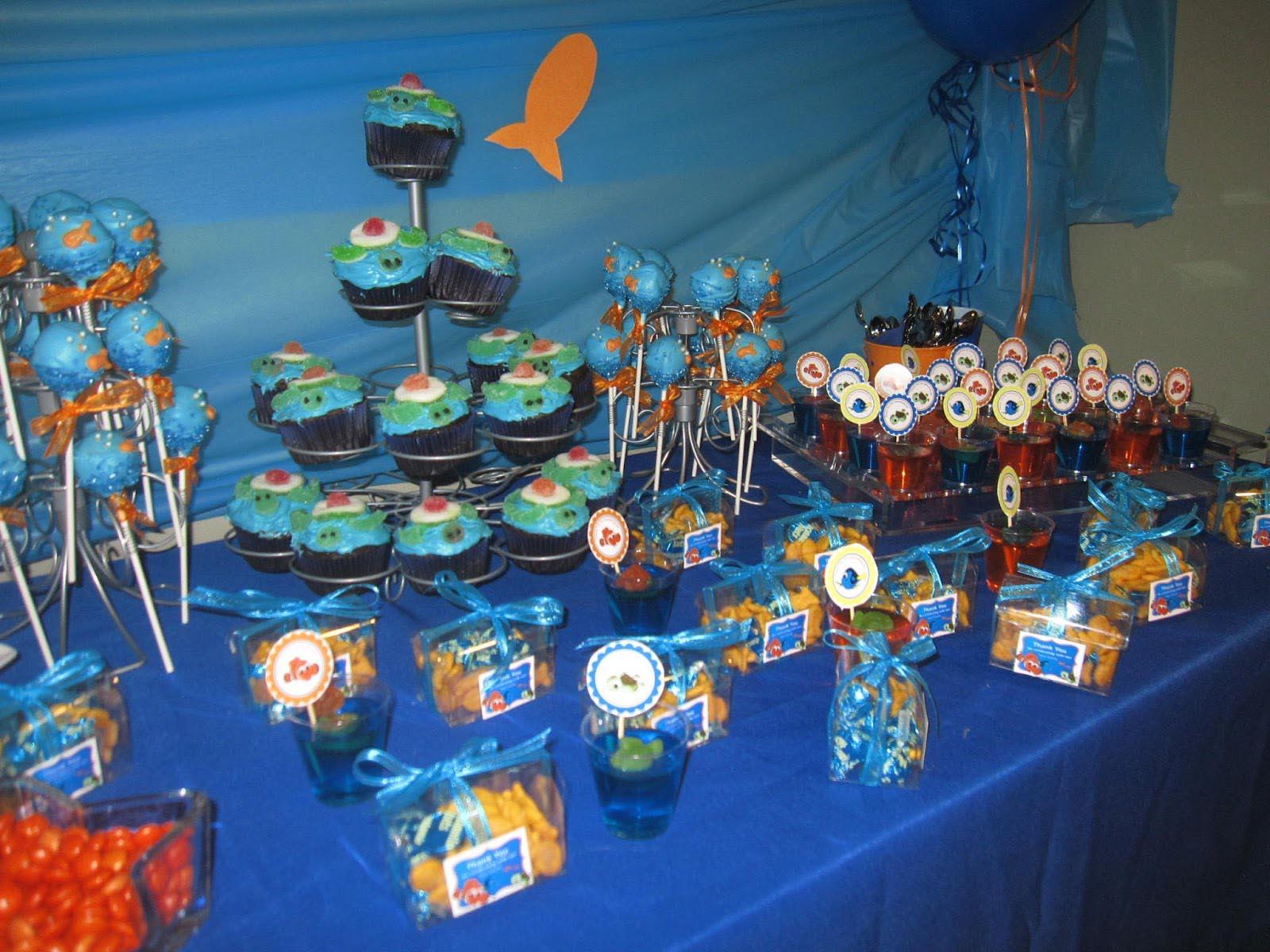 Decoraciones de nemo para cumplea os 25 decoracion de - Decoraciones fiestas de cumpleanos ...
