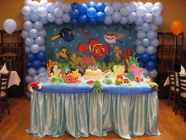 Decoraciones de nemo para cumplea os 27 decoracion de - Decoraciones fiestas de cumpleanos ...
