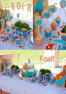 Fiesta para niños de 3 años