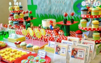 Mario Bros llegó para engalanar el Festejo de tu Pequeño… Ideas más que originales para una fiesta temática de Mario Bros!