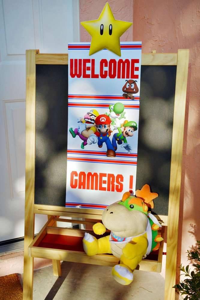 ¡Super Mario Bros, es el ideal para decorar la Fiesta de Cumpleaños de tu Hijo!