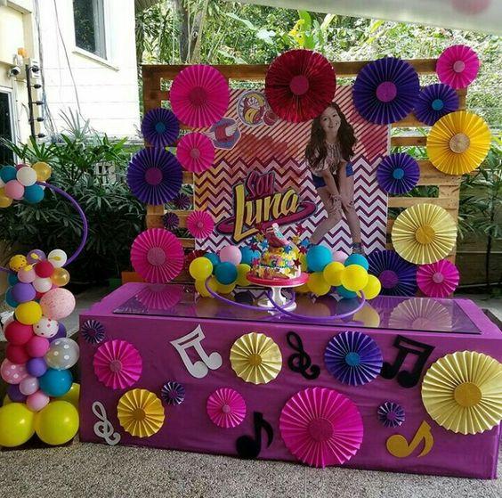 Ideas de soy luna para cumplea os 21 decoracion de - Ideas para decorar cumpleanos infantiles ...