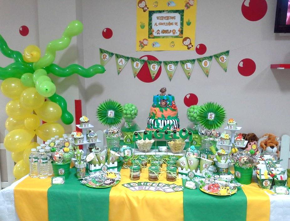 ideas para fiesta de la selva with fiestas infantiles tematicas
