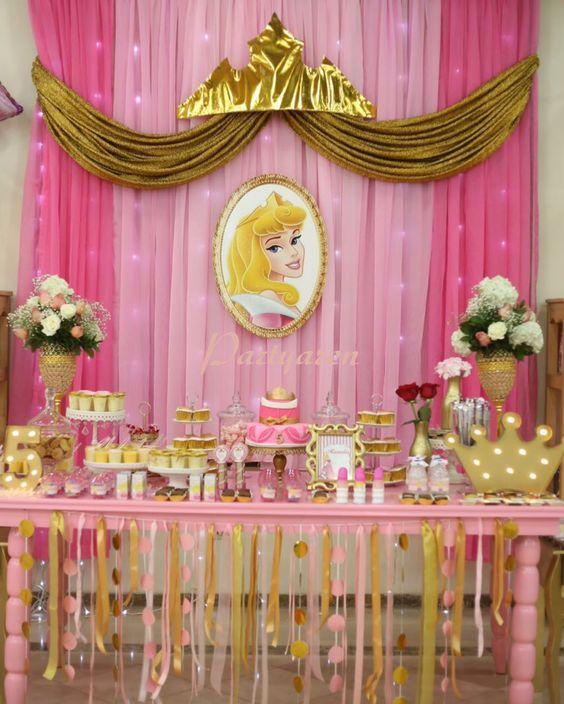 Princesa aurora para cumpleanos 18 decoracion de - Decoracion fiesta 18 cumpleanos ...