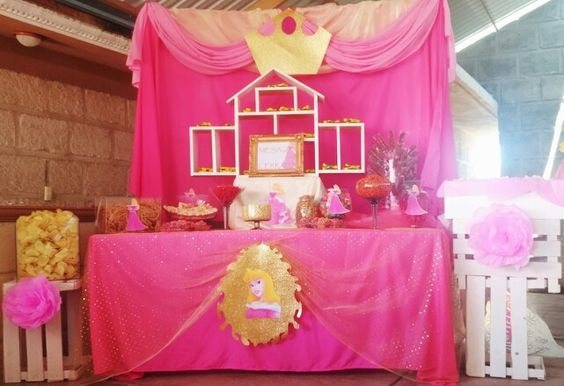 Princesa aurora para cumpleanos 5 decoracion de - Decoracion cumpleanos princesas ...
