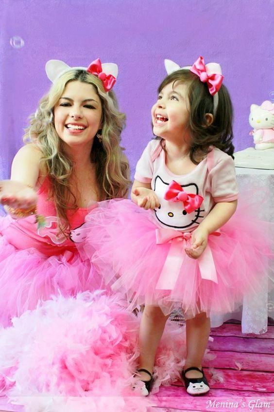 Vestidos de mamá e hija para fiestas -