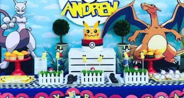 Llegó La Fiesta De Pokemón Go…. ¡¡Ideas Fantásticas y Originales para que tu Hijo Se llene de Felicidad!!