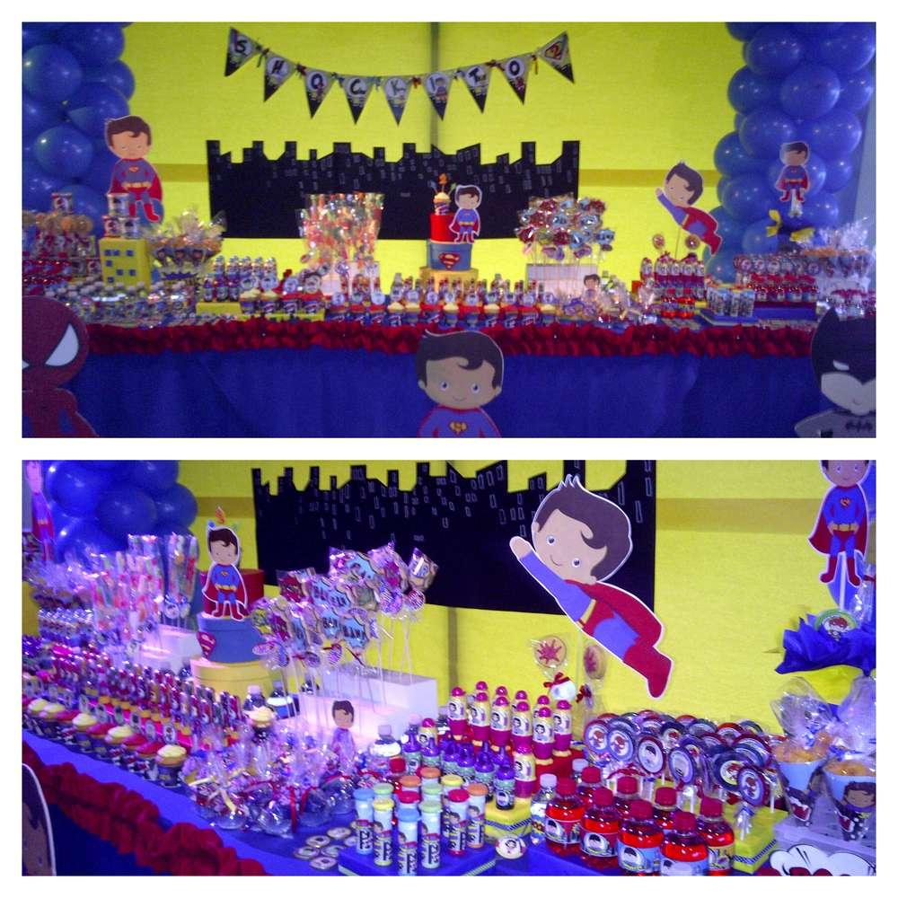 Cumpleanos de superman para ninos 15 decoracion de fiestas cumplea os bodas baby shower - Decoracion para cumpleanos de ninos ...