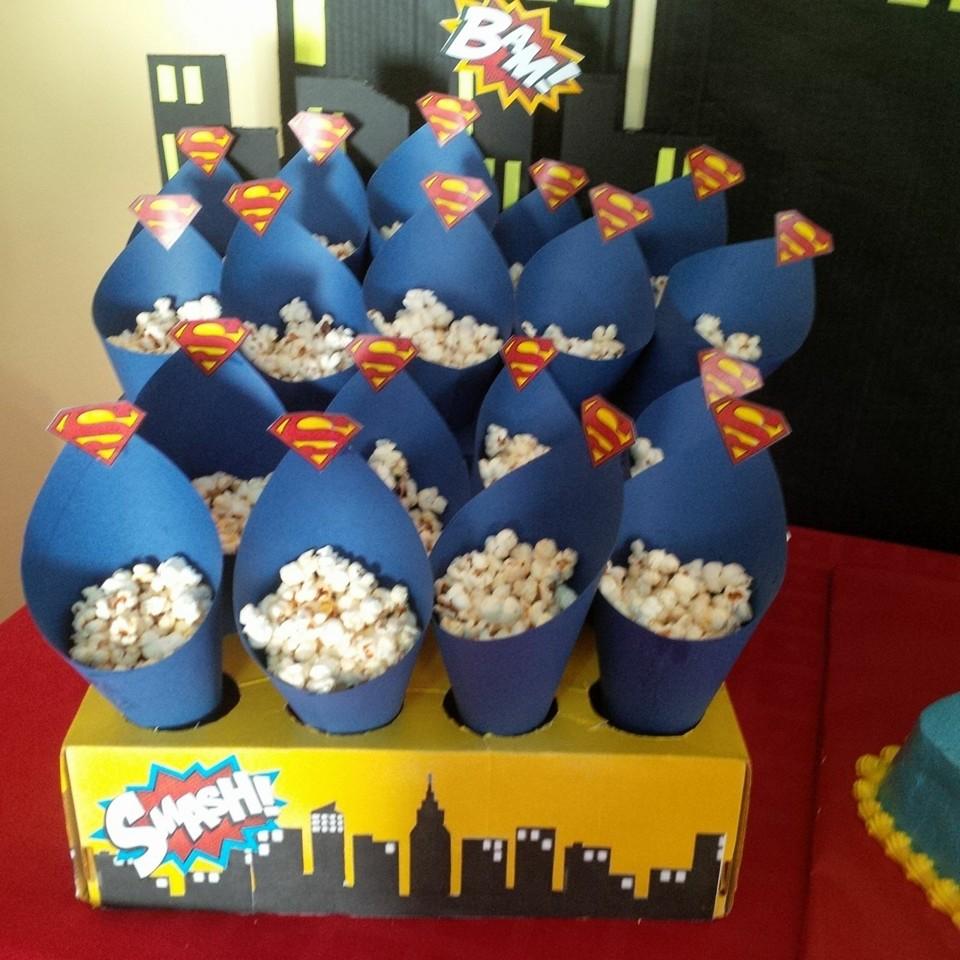Cumpleanos de superman para ninos 2 decoracion de - Fiesta de cumpleanos en casa para ninos ...