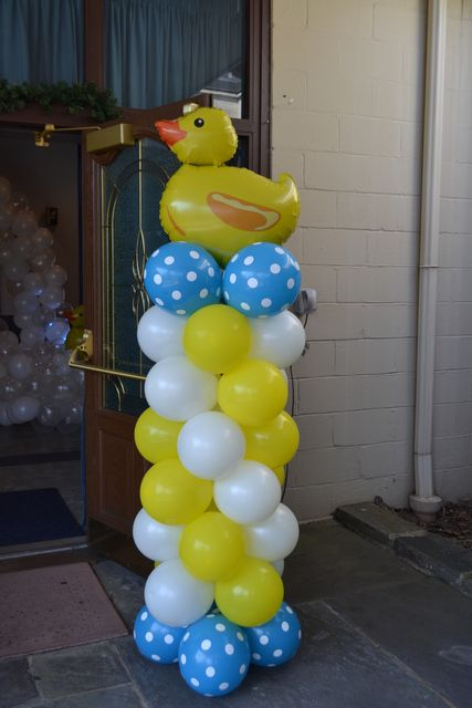Decoración de Patito de goma para cumpleaños