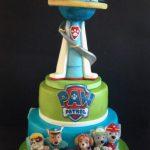 Decoración de Paw Patrol para cumpleaños