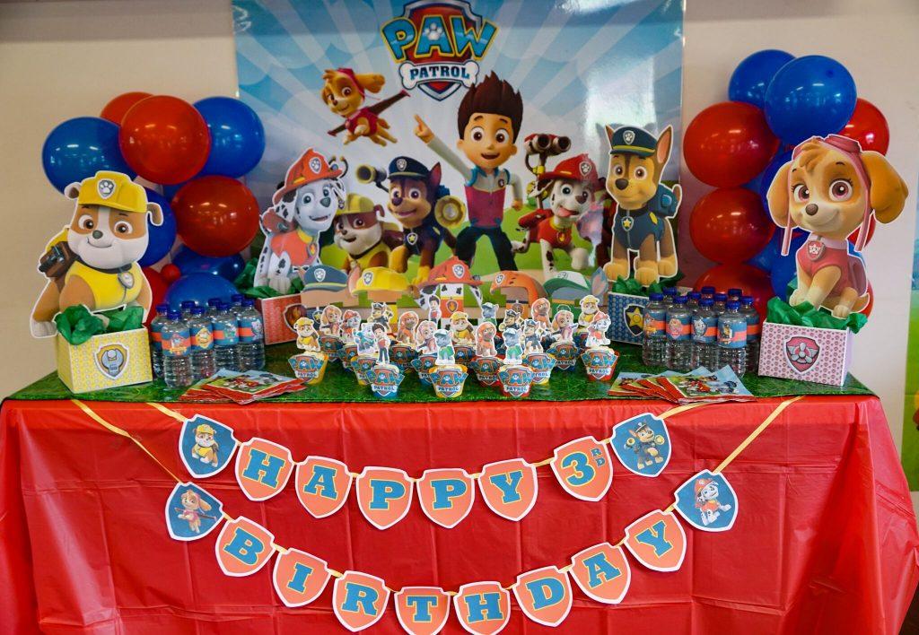 Decoracion de paw patrol para cumpleanos 23 decoracion for Decoracion para fiesta de cumpleanos de nina