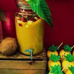 Decoración fiesta tropical