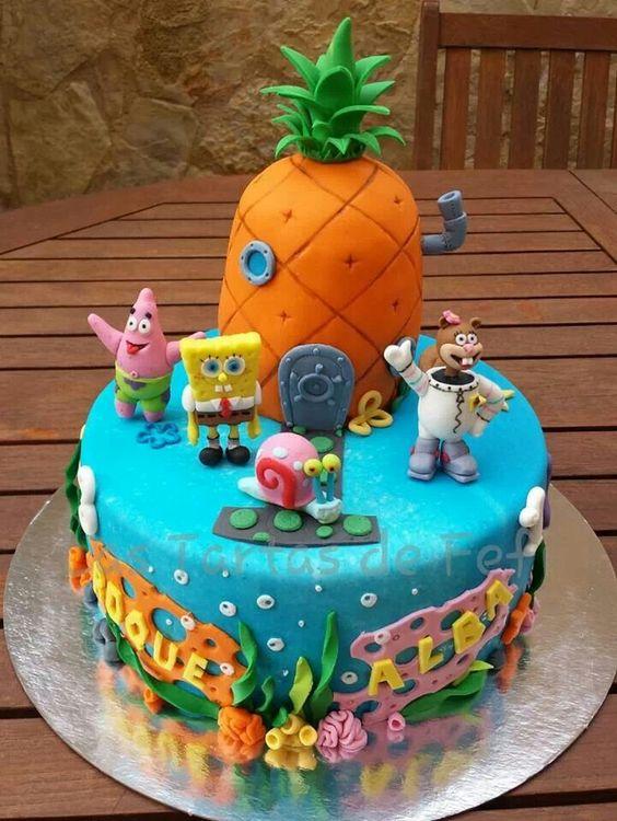 Decoracion para fiesta de cumplea os de bob esponja 10 decoracion de fiestas cumplea os - Decoracion bob esponja ...