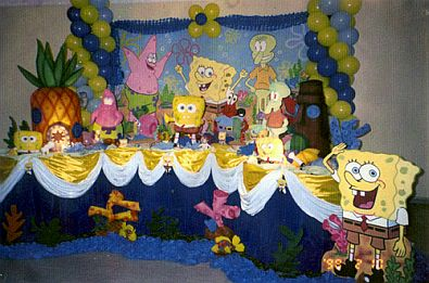 Decoracion para fiesta de cumplea os de bob esponja 28 decoracion de fiestas cumplea os - Decoracion bob esponja ...