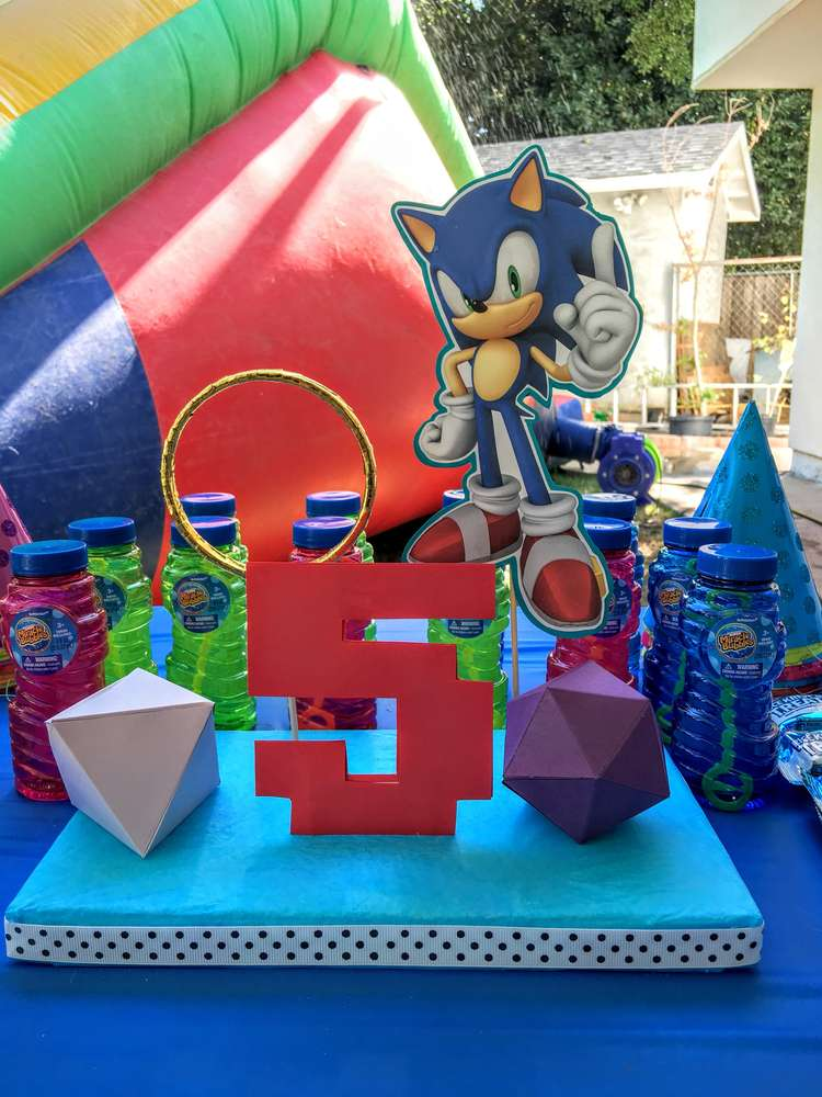 Decoracion Fiesta Baby Shower Nina #2: Decoracion-para-fiesta-de-sonic-3.jpeg