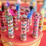 Decoración para fiesta estilo carnaval