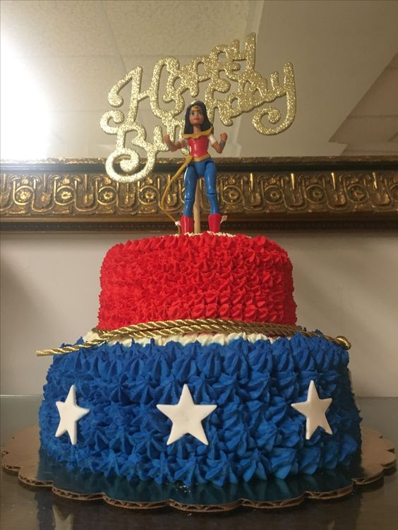 Ideas para decorar una fiesta infantil mujer maravilla - Ideas fiesta inauguracion piso ...